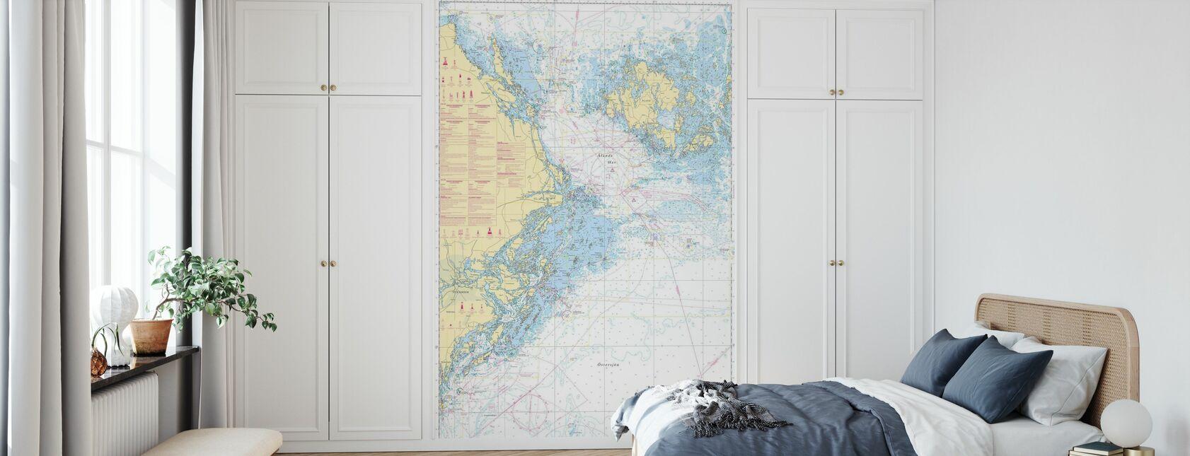 Havsdiagram 61 - Landsort - Alands Hav - Tapet - Sovrum