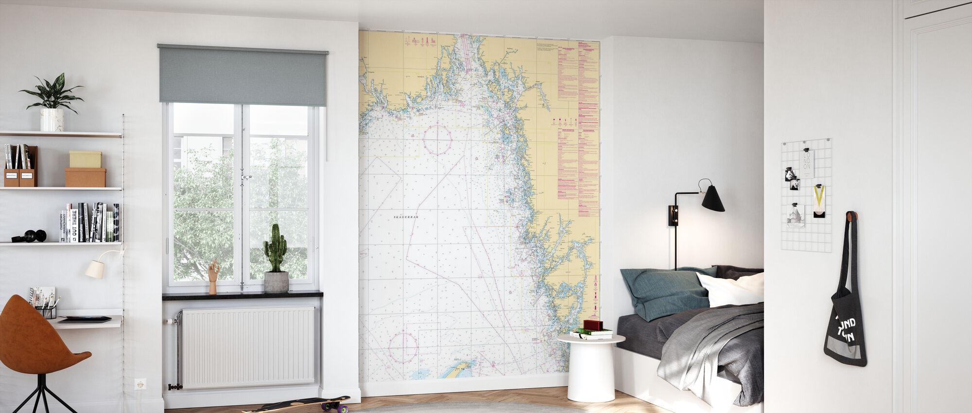Havsdiagram 93 - Skagerrak - Tapet - Barnrum