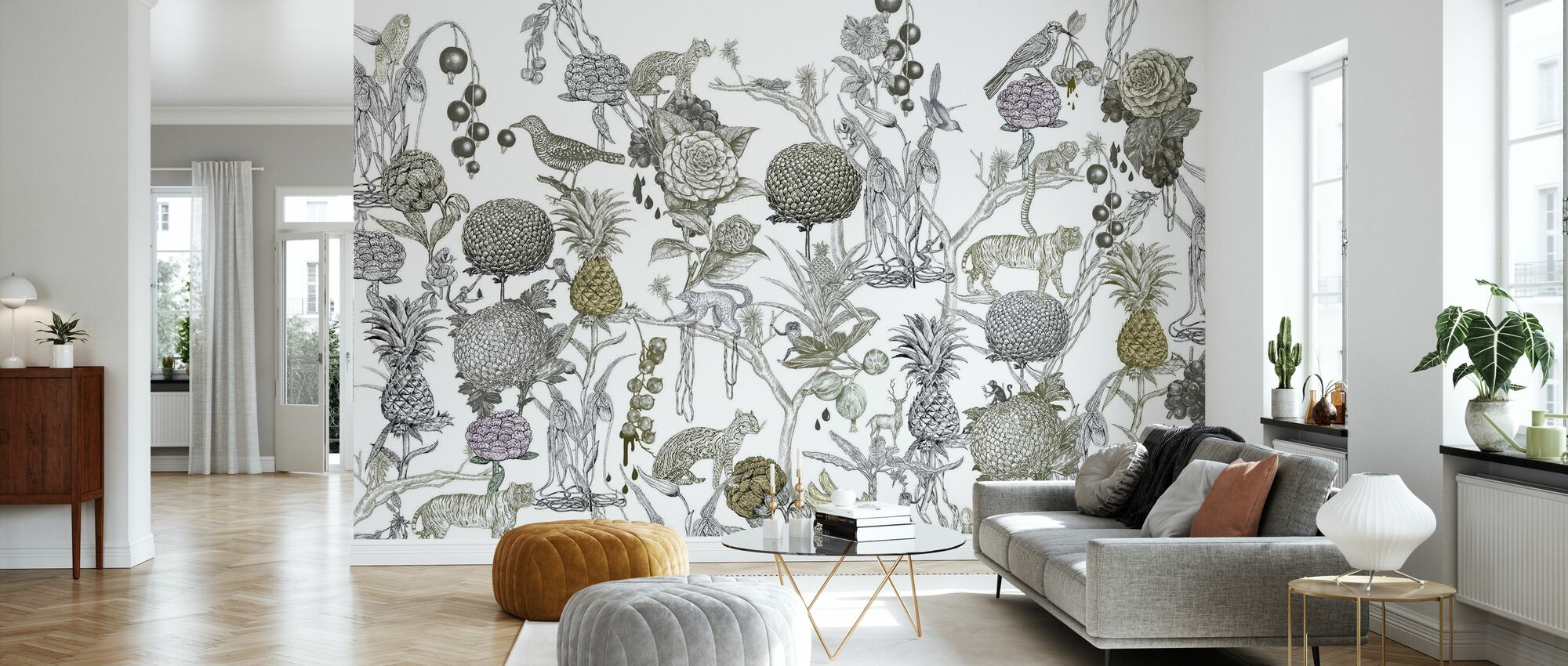Wild at Heart - Wallpaper - Living Room