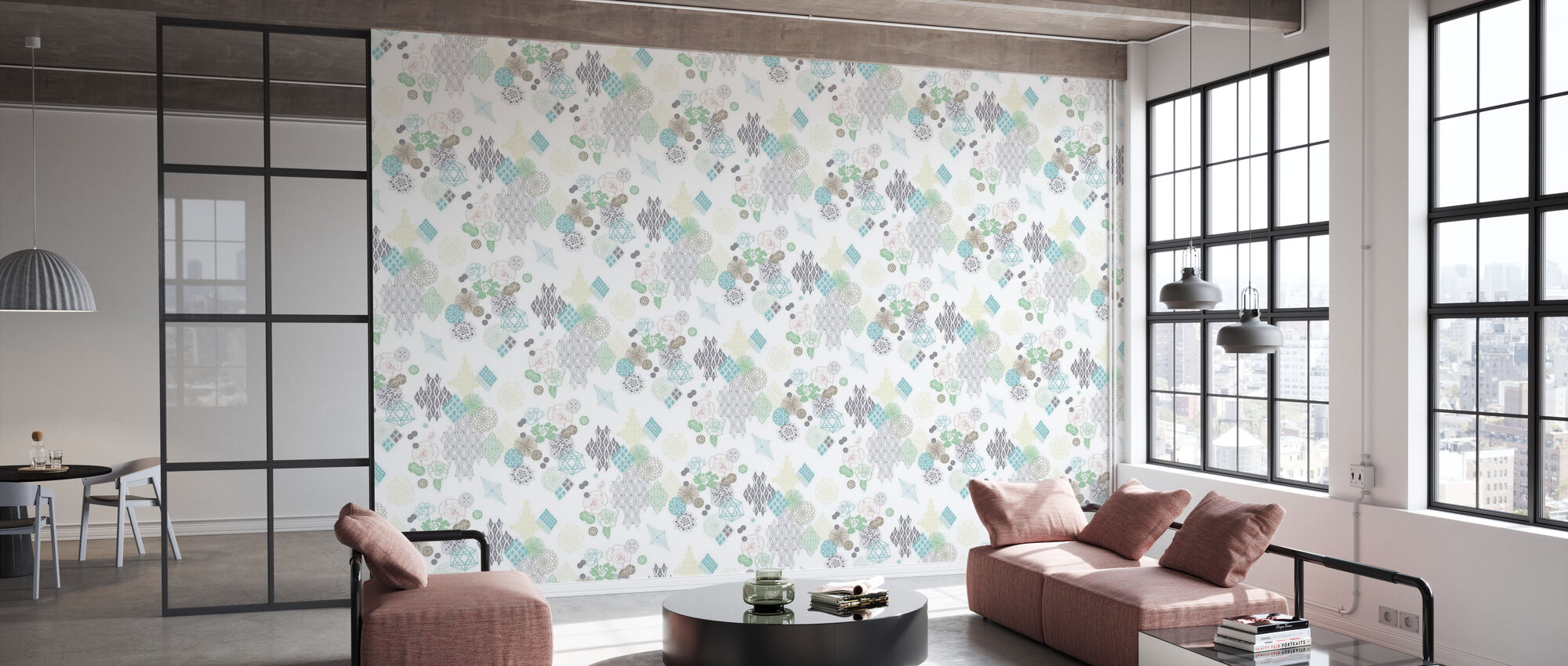 The English Rose - Wallpaper - Office