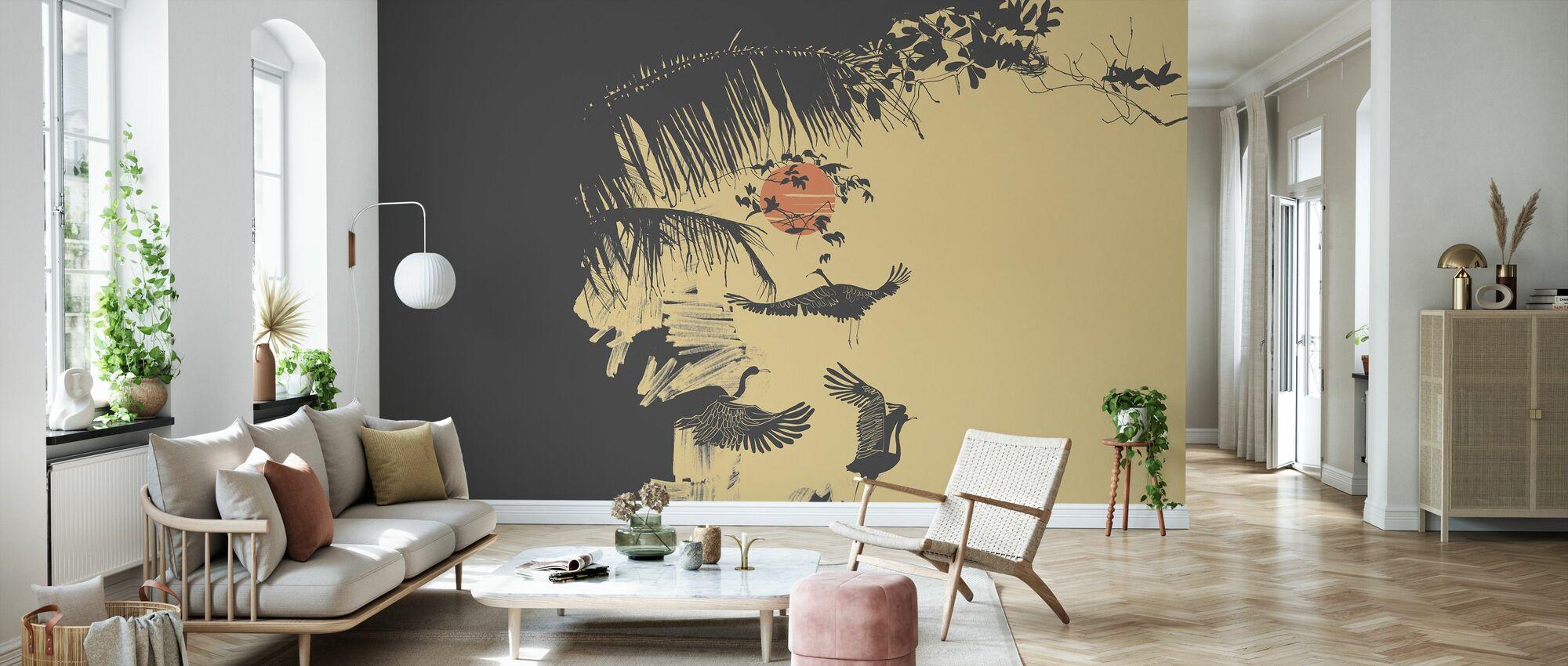 Early in Vietnam 1 - Wallpaper - Living Room