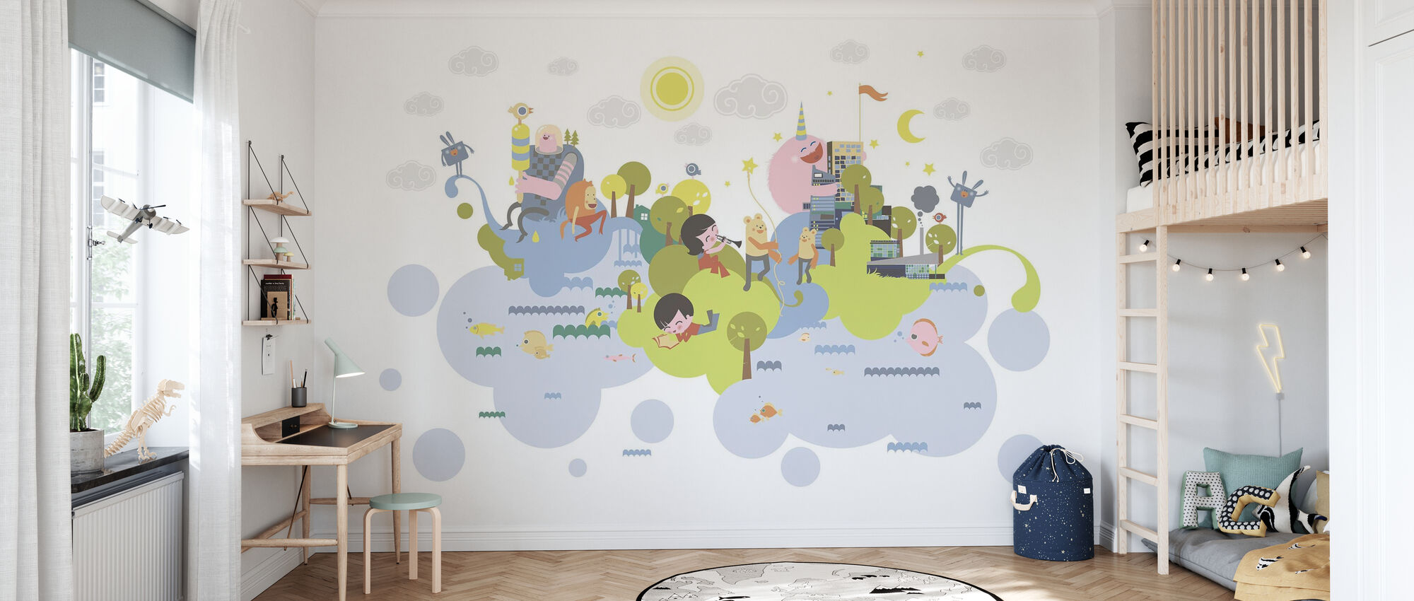Sweet Dreams - Wallpaper - Kids Room