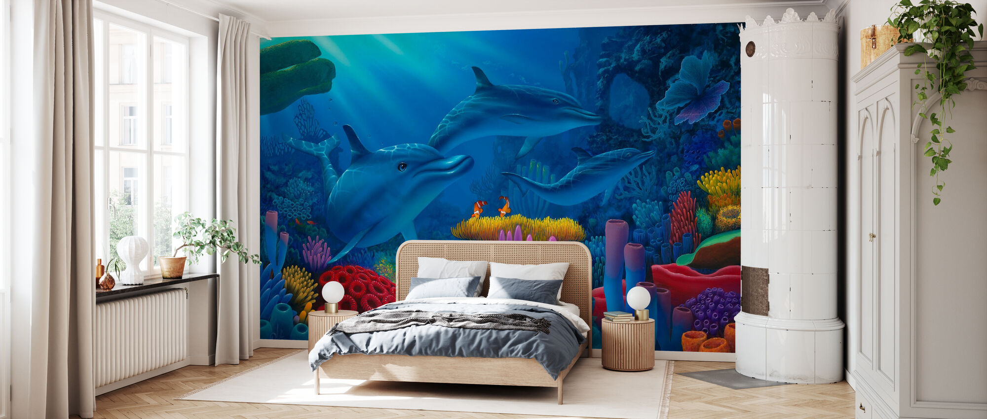 Secrets of the Sea - Wallpaper - Bedroom