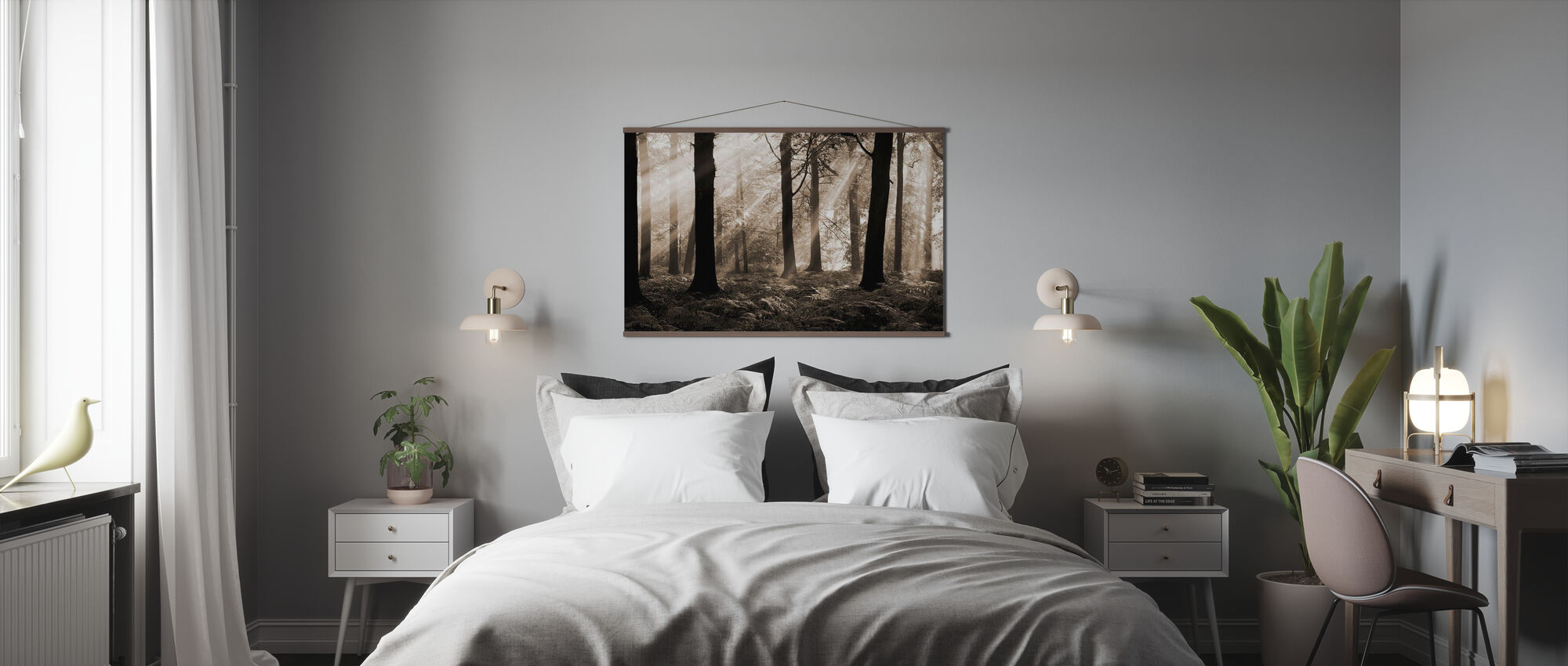 August Morning - Poster - Bedroom