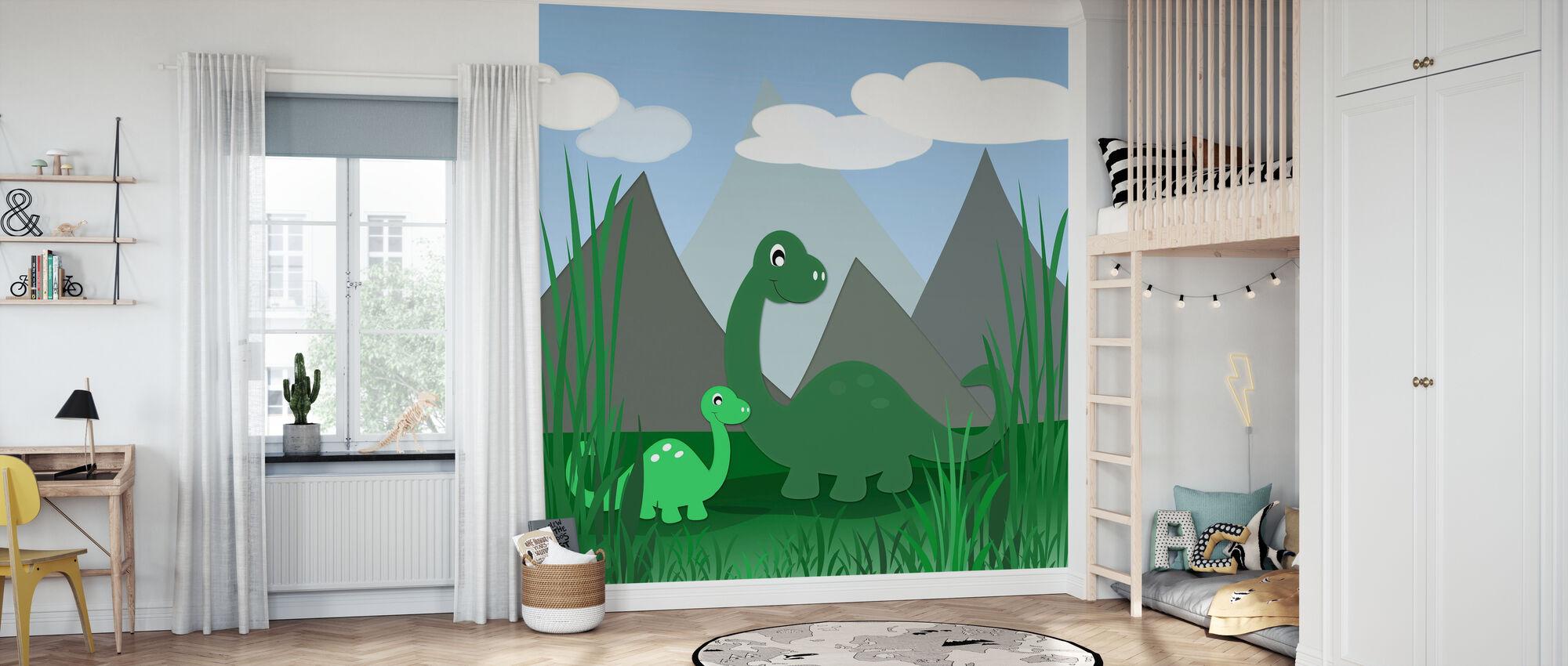 Dinoland - Wallpaper - Kids Room