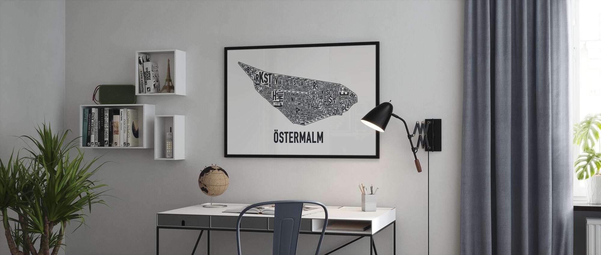Ostermalm - Plakat - Kontor