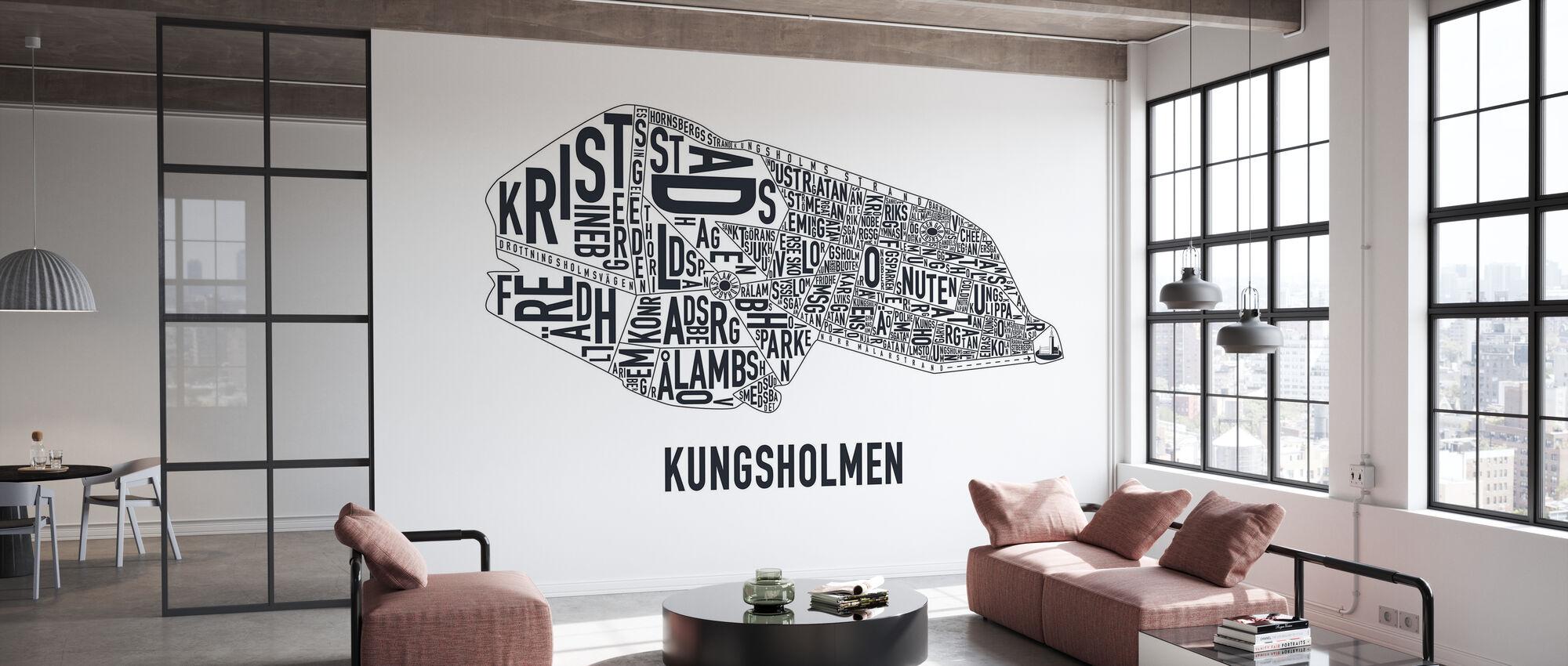 Kungsholmen - Tapet - Kontor