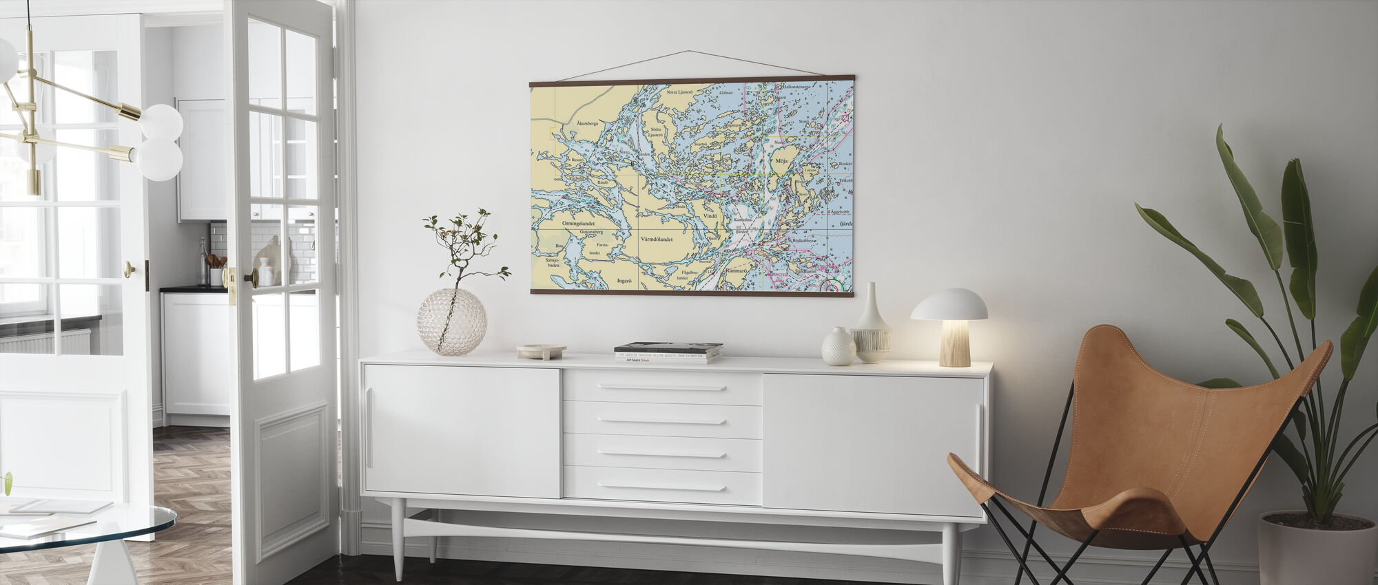 Middle Archipelago - Poster - Living Room