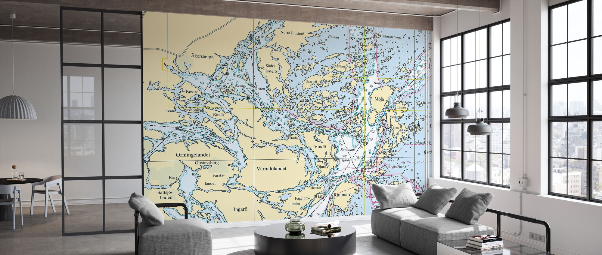 Middle Archipelago - Wallpaper - Office