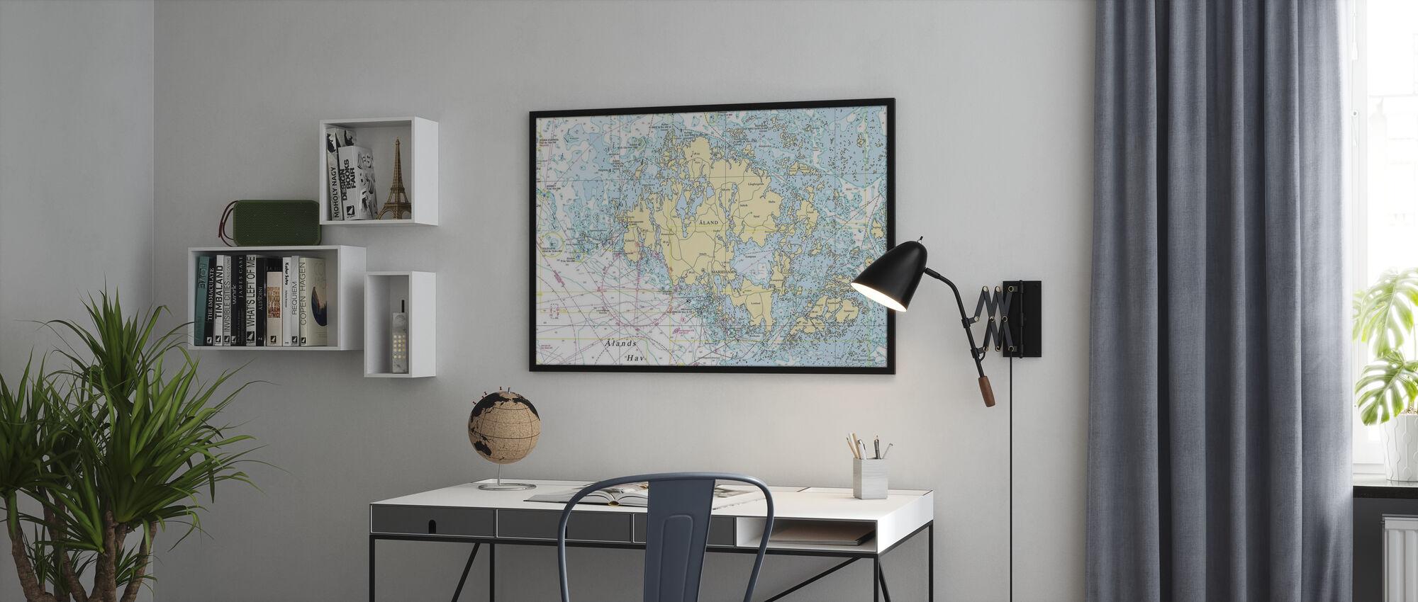 Aland Archipelago - Poster - Office