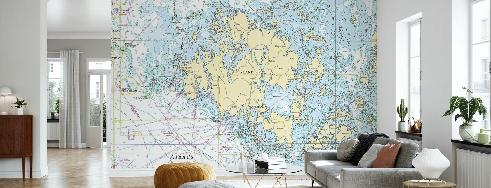 Aland Archipelago - Wallpaper - Living Room