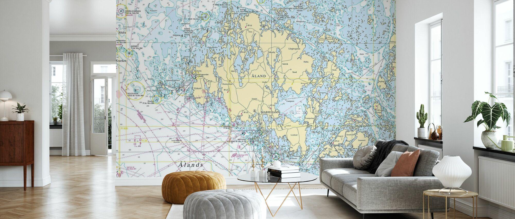 Aland Archipelago - Wallpaper - Living Room
