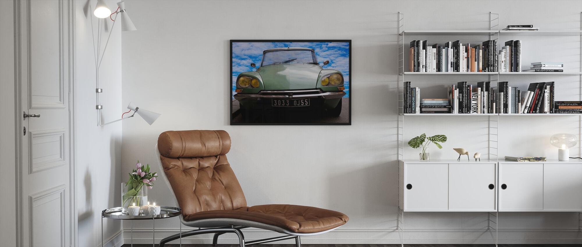 Citroen DS - Framed print - Living Room