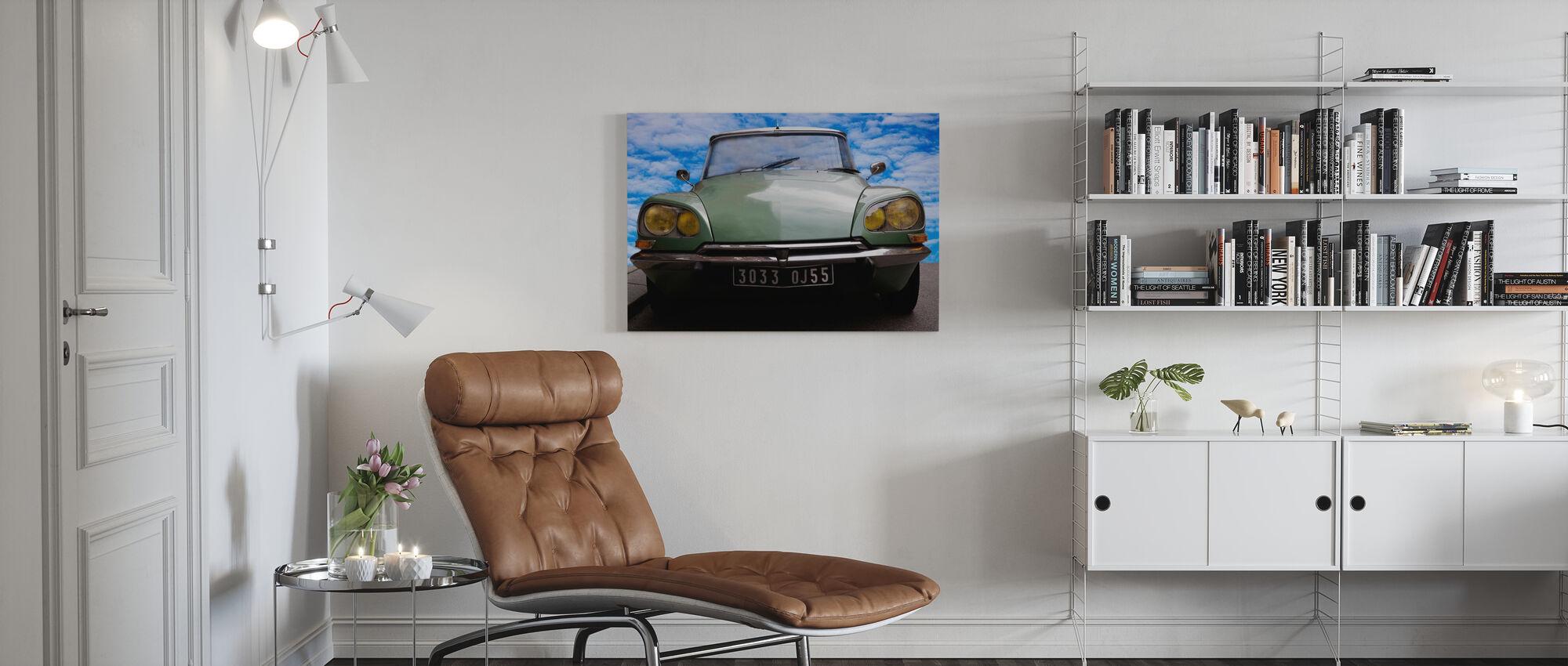 Citroen DS - Canvas print - Living Room