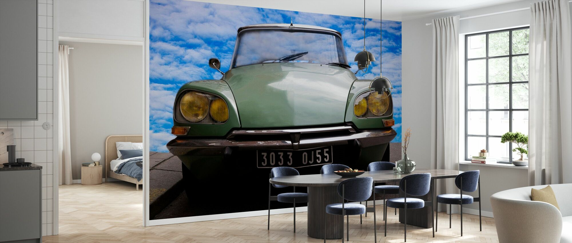 Citroen DS - Wallpaper - Kitchen