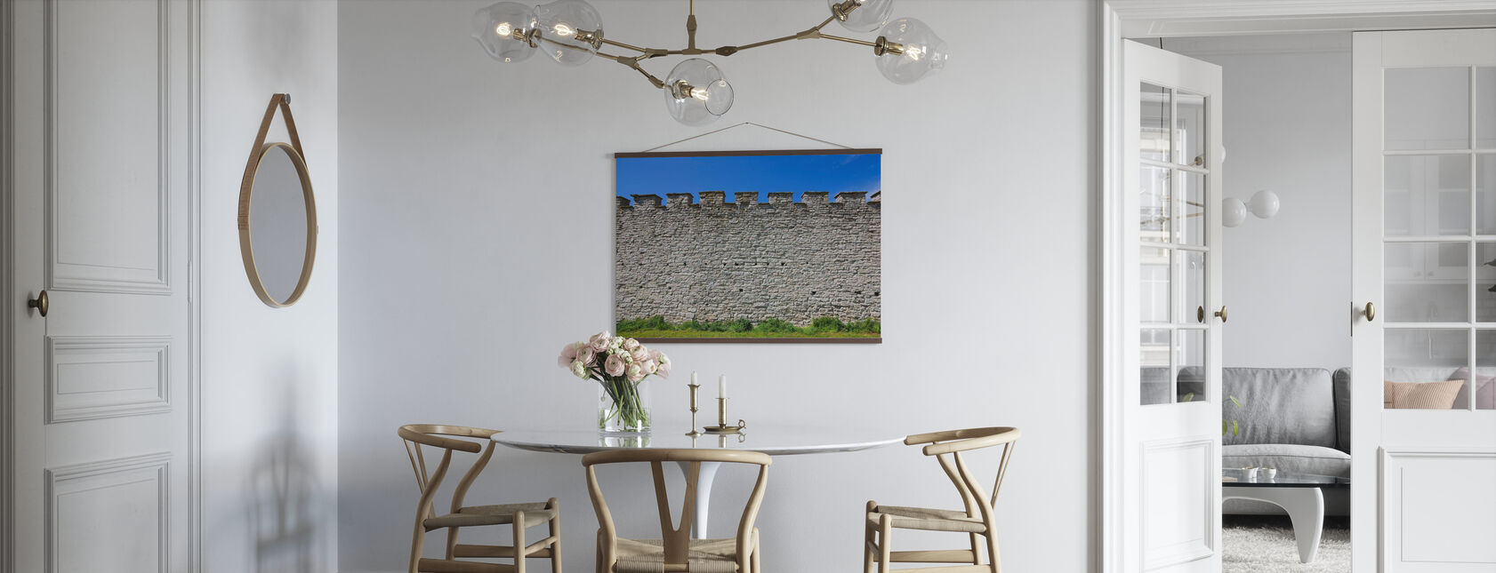 Old Fortress Wall - Poster - Kitchen