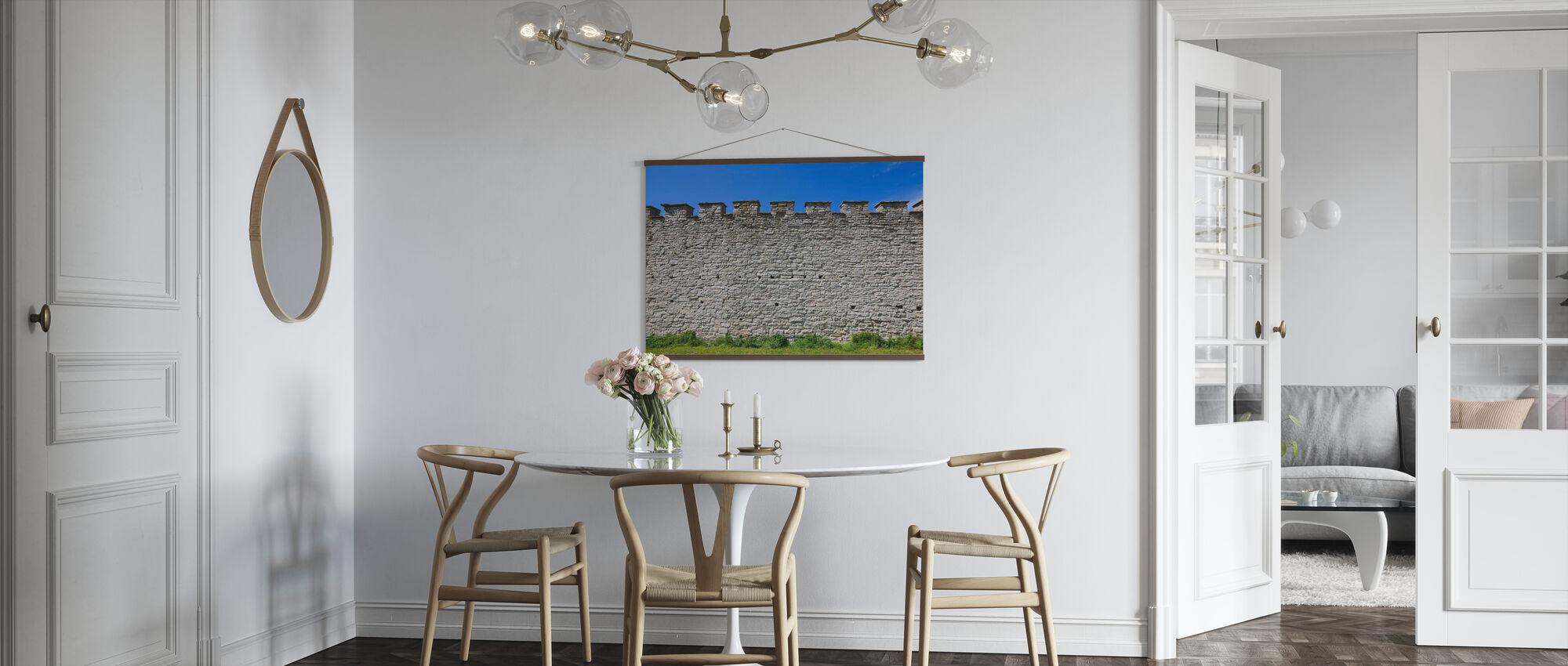 Gamle festningsmuren - Plakat - Kjøkken