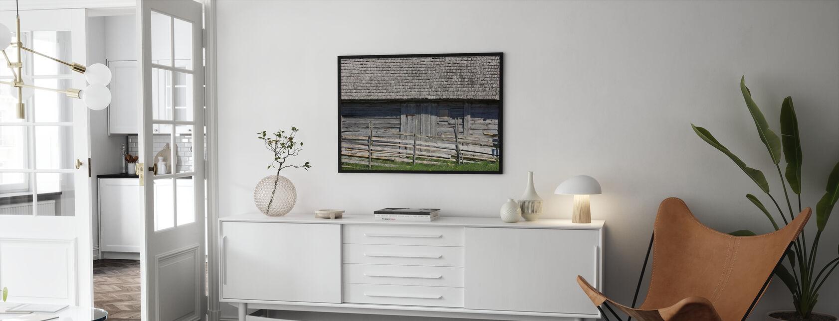 Old Grain Store - Poster - Living Room