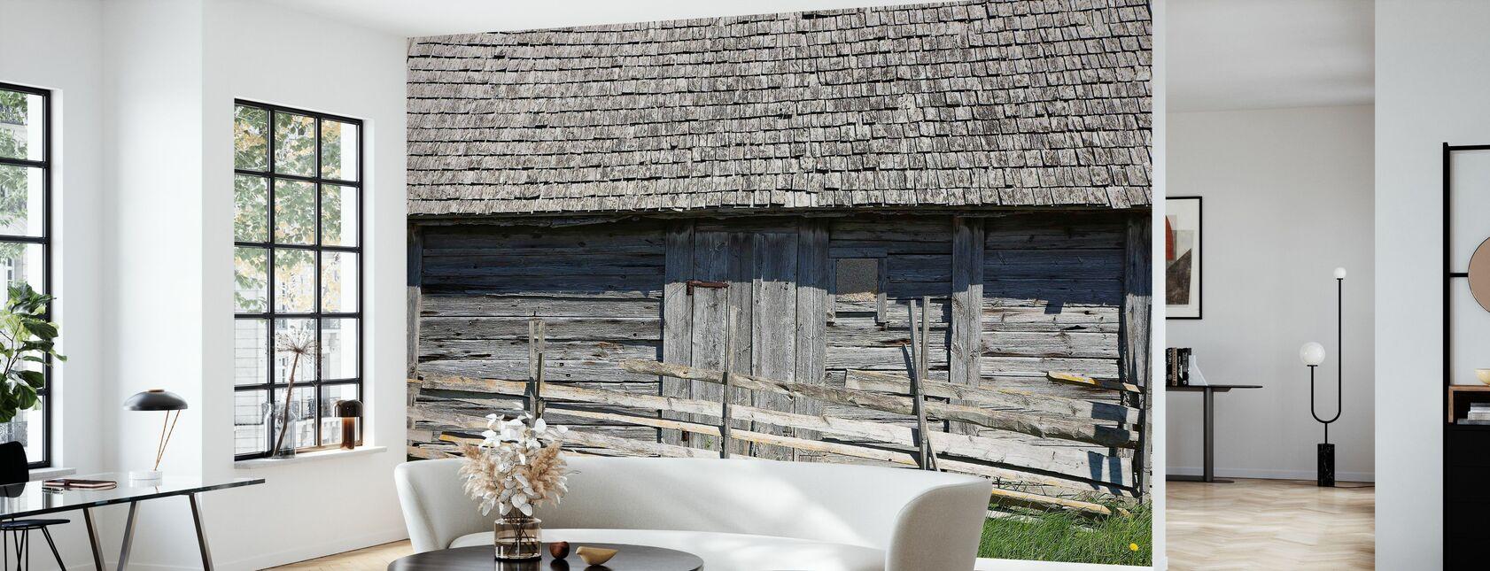 Old Grain Store - Wallpaper - Living Room