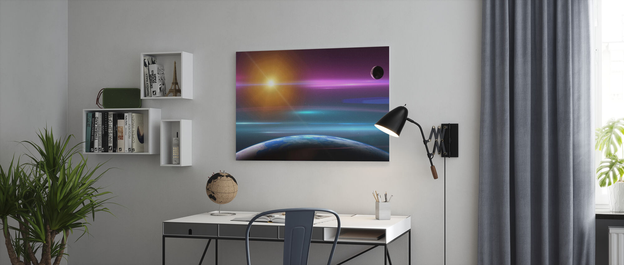 Amazing Space - Canvas print - Office