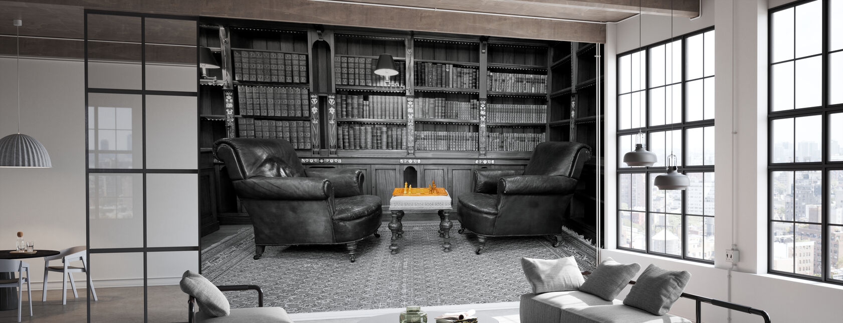 Old Library - Wallpaper - Office