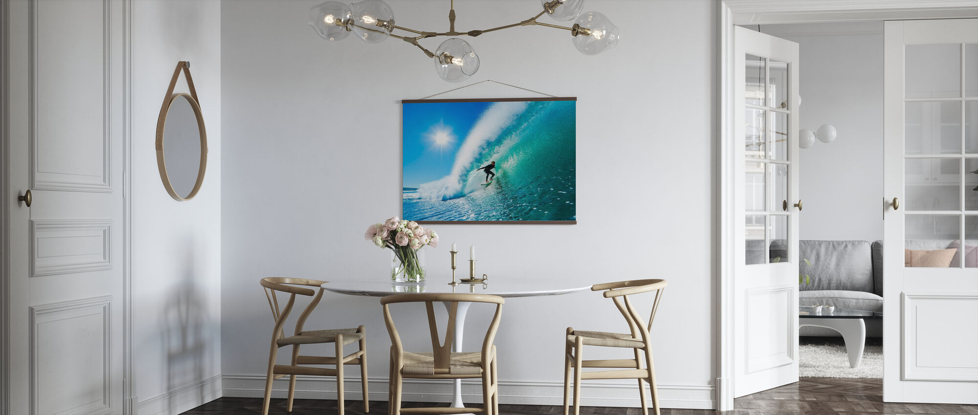 Surfing - Plakat - Køkken