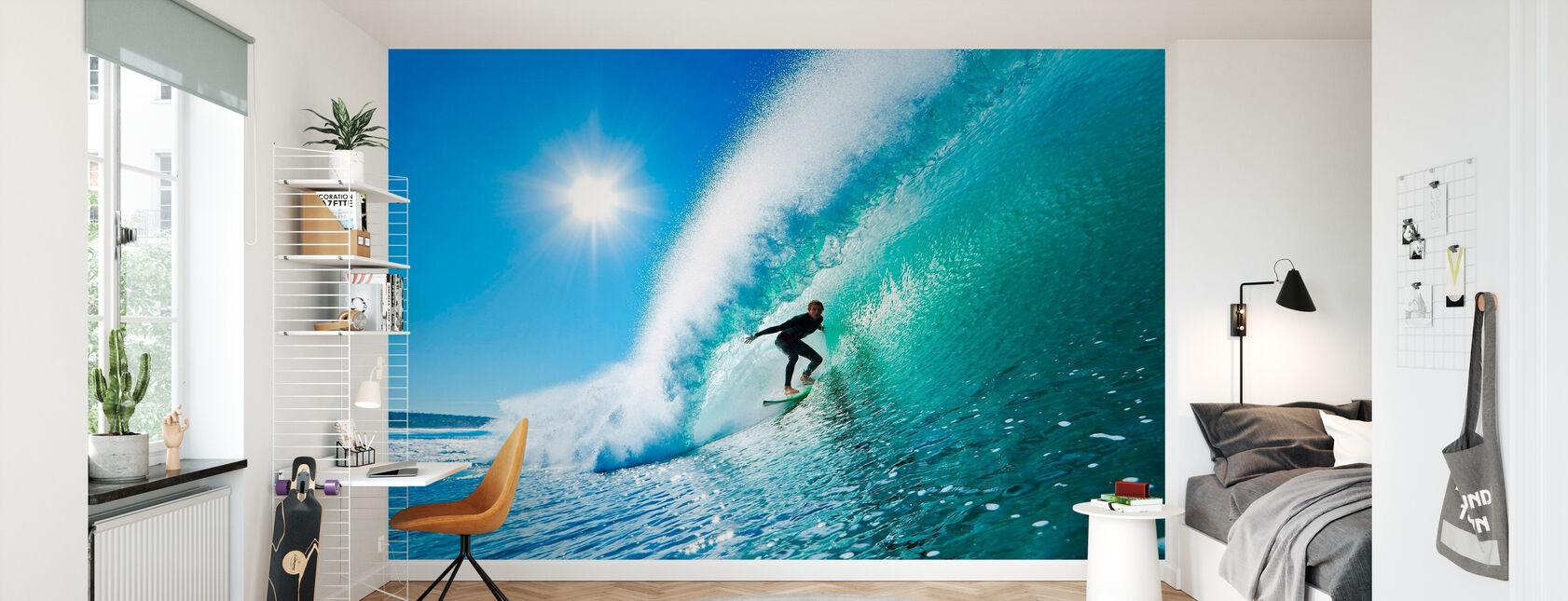 Surfing - Wallpaper - Kids Room