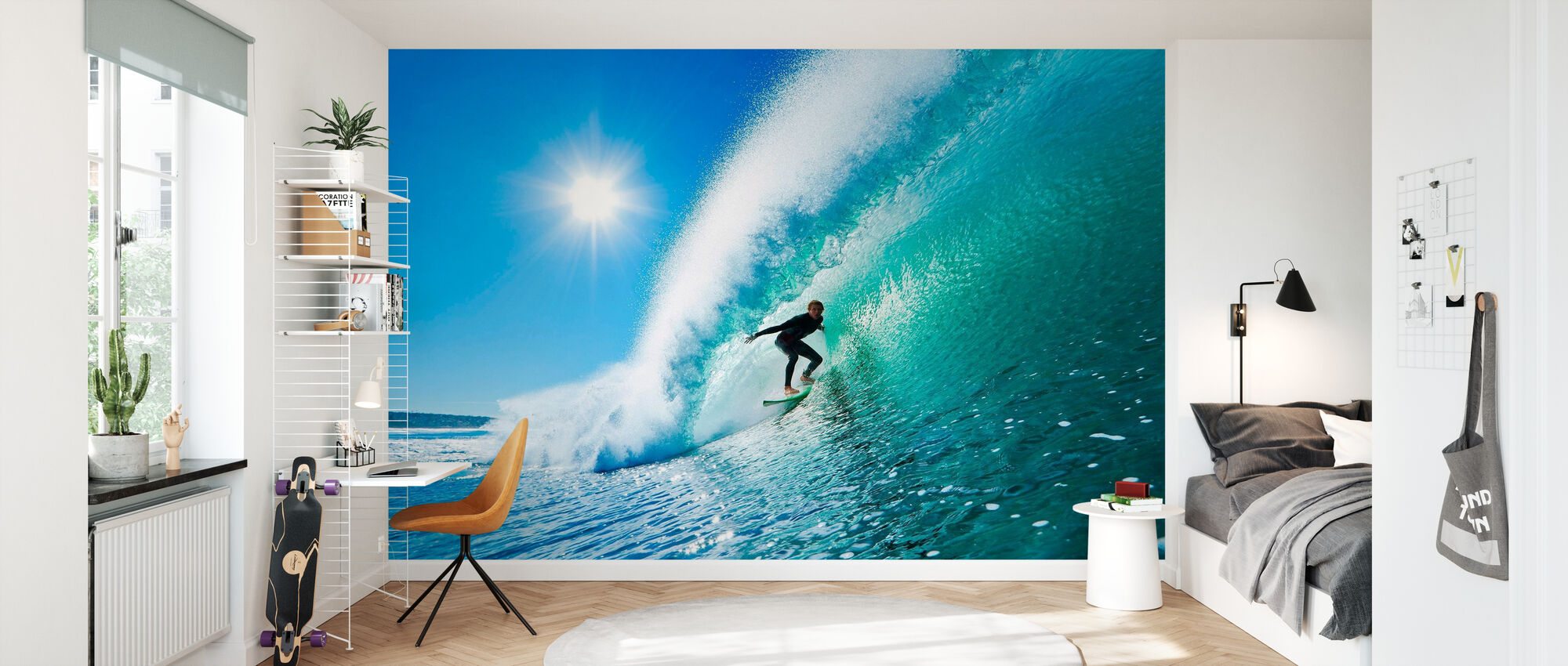 Surfing - Wallpaper - Kids Room