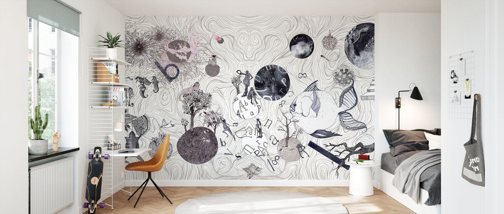 Mundi - Papier peint - Chambre des enfants