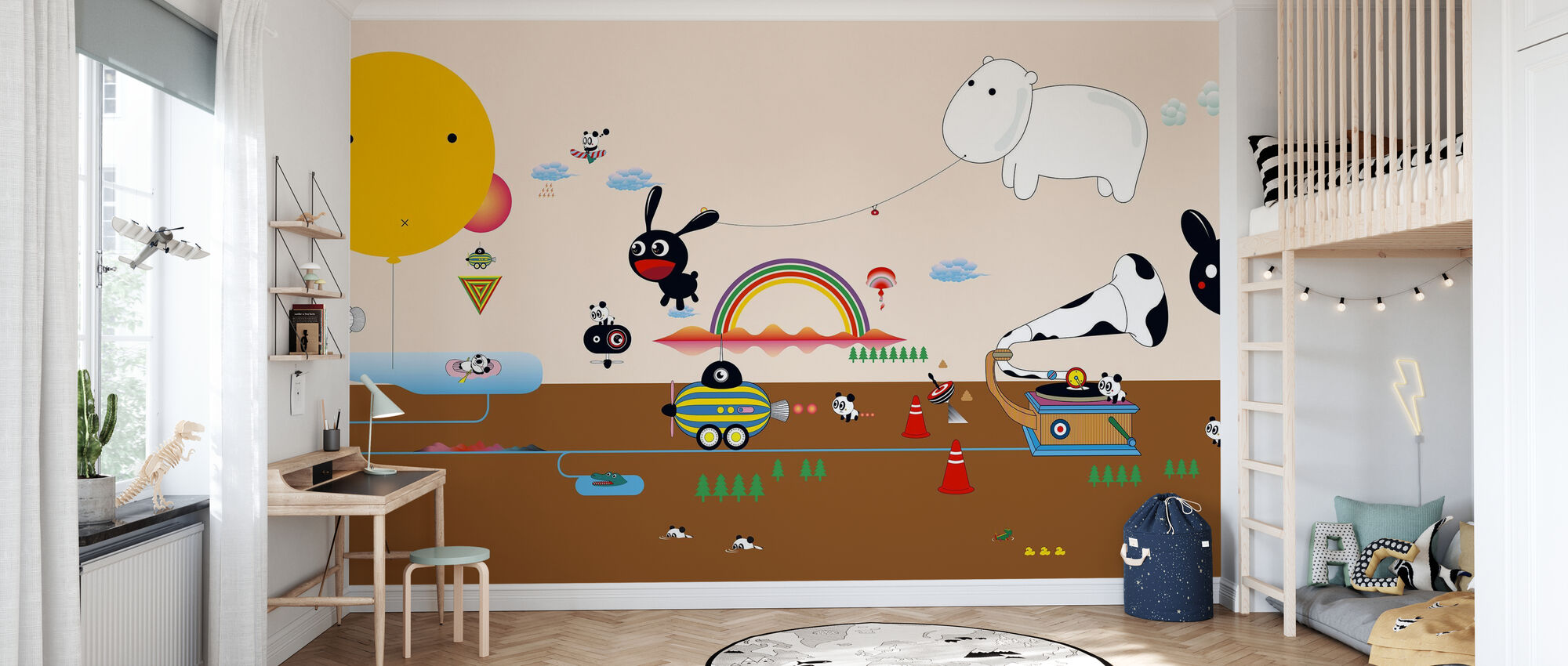 Qianqian Beachlife - Wallpaper - Kids Room