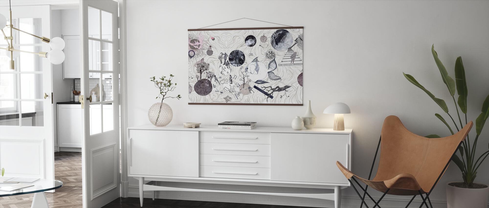Mundi - Poster - Wohnzimmer