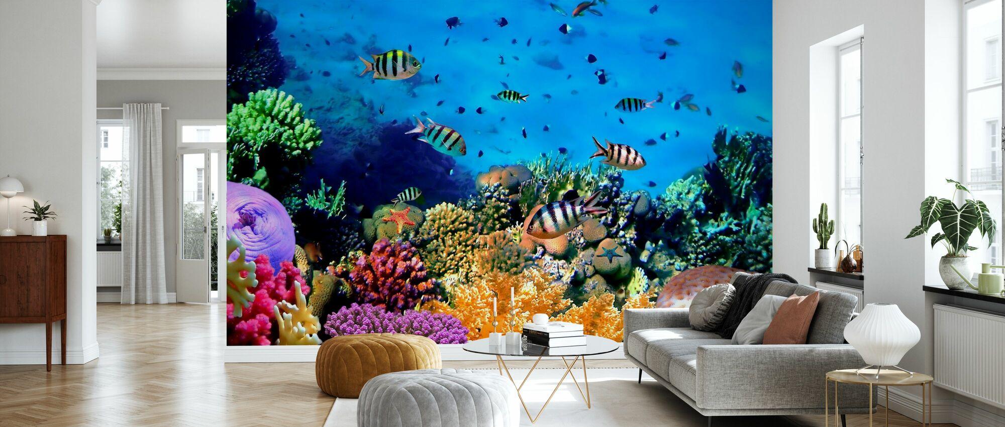 Coral Reef at Koh Cahg Island - Wallpaper - Living Room