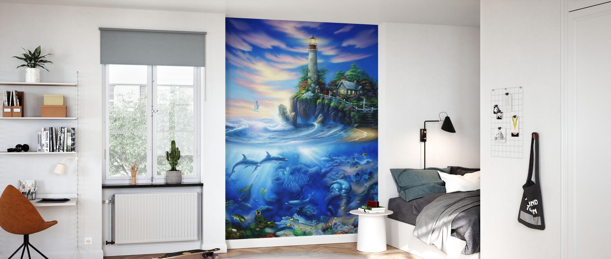 Eternal Light - Wallpaper - Kids Room