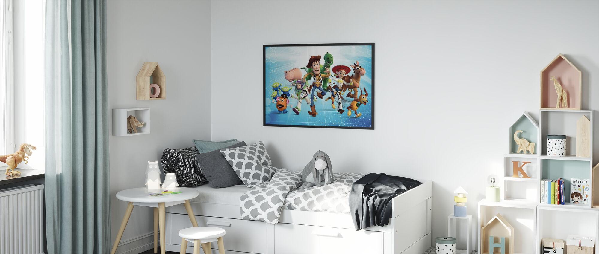 Toy Story - Gjengen - Innrammet bilde - Barnerom
