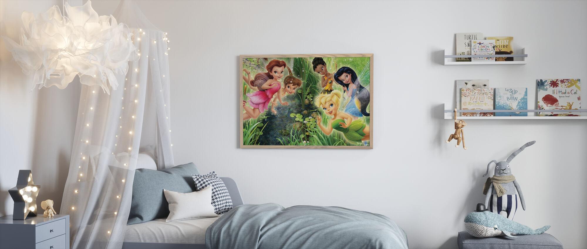 Fairies - Nærbilde - Innrammet bilde - Barnerom