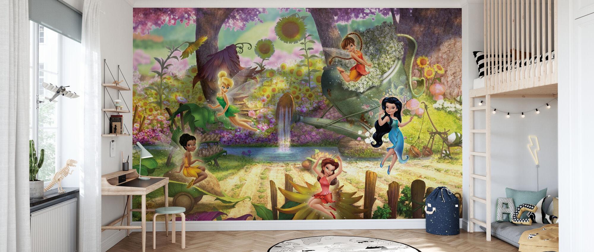 Fairies - Det är en saga värld - Tapet - Barnrum