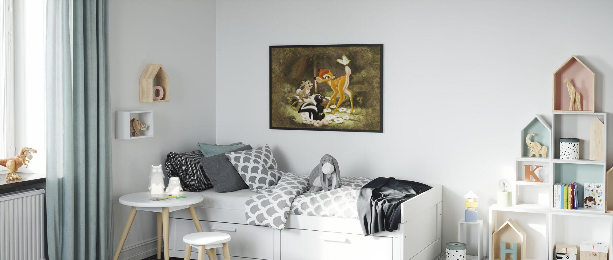 Disney-klassikere - Bambi - Innrammet bilde - Barnerom