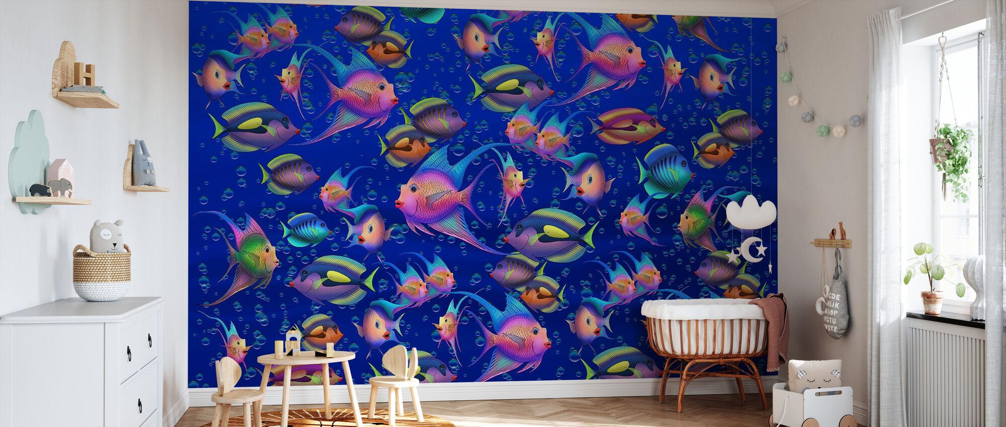 Fantasy Fish II - Wallpaper - Nursery