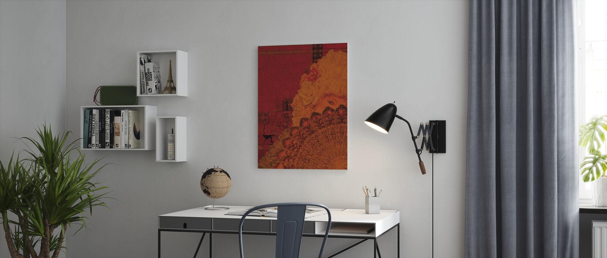 Marie Antoinettte - Canvas print - Office