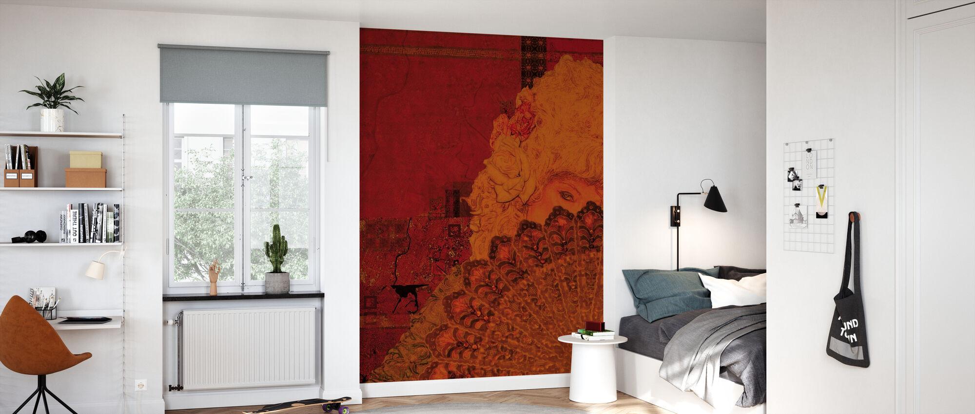 Marie Antoinettte - Wallpaper - Kids Room