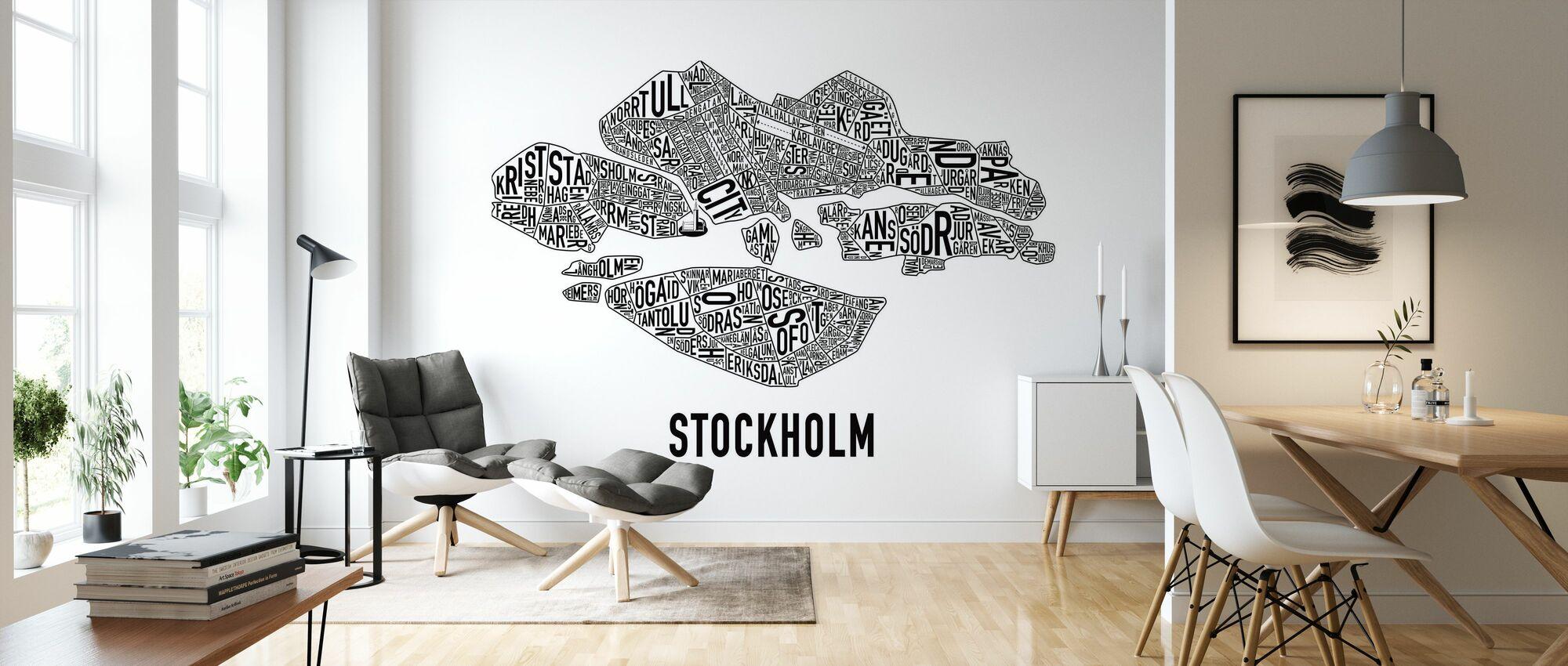 Stoccolma - Carta da parati - Salotto