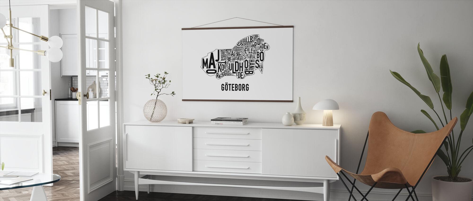 Göteborg - Poster - Woonkamer