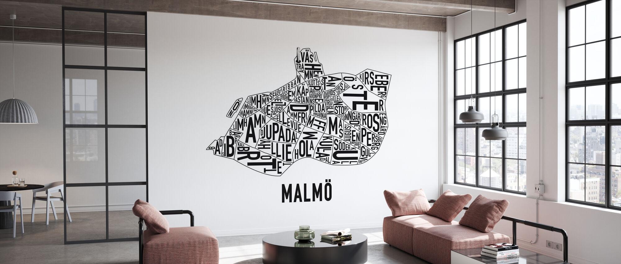 Malmö - Behang - Kantoor