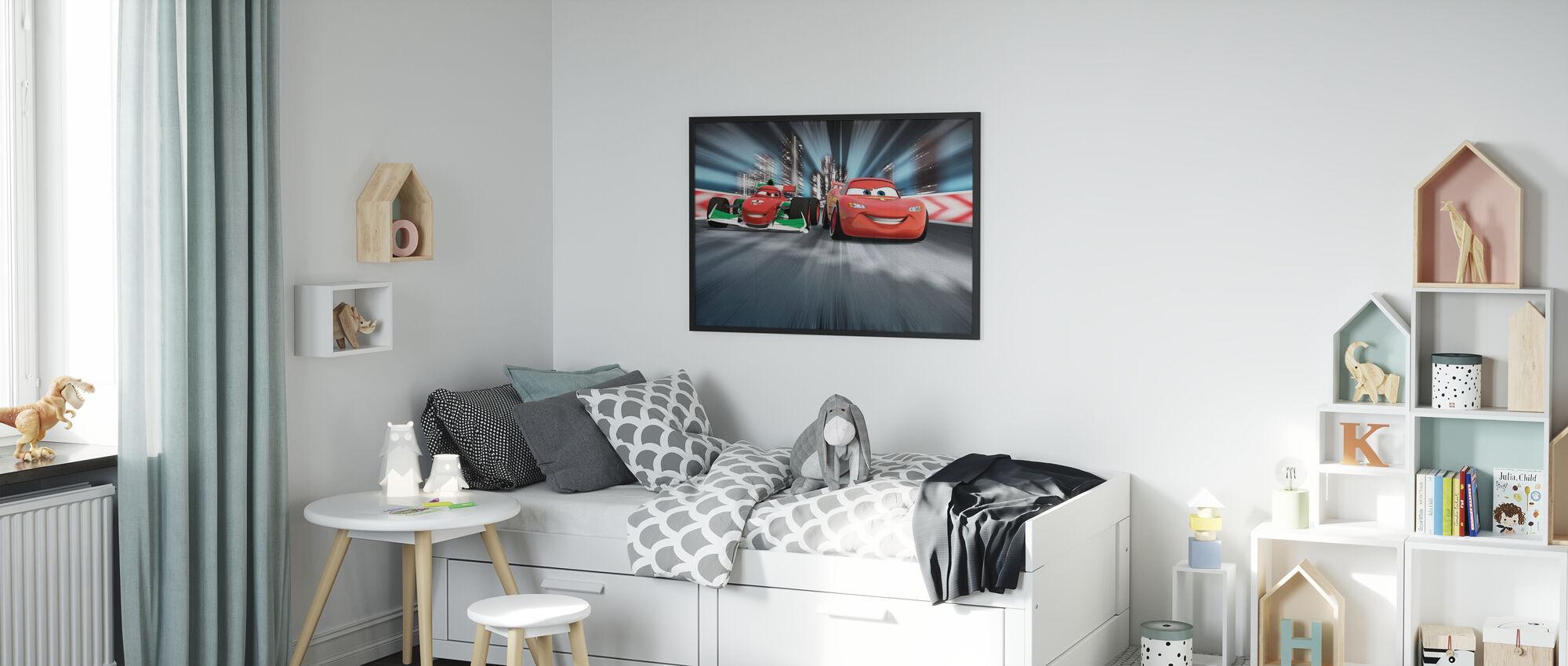 Francesco Bernoulli lyn McQueen - Innrammet bilde - Barnerom