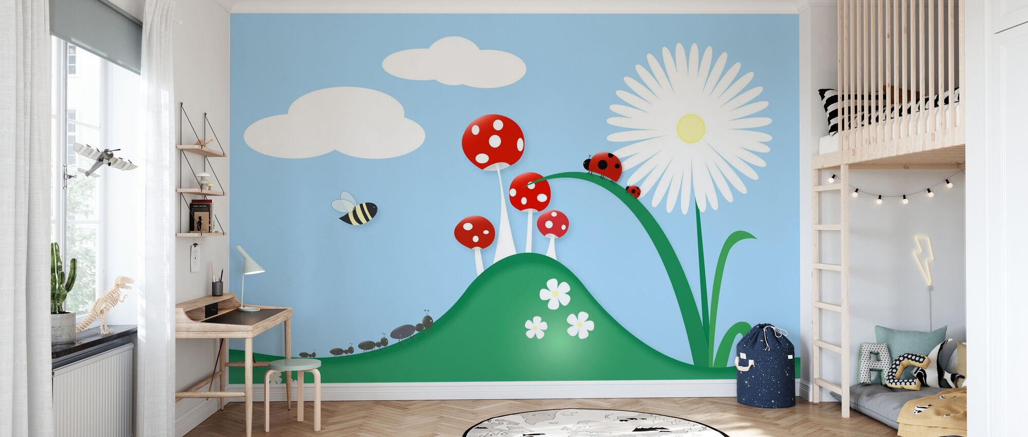 Eine Bugs Welt - Tapete - Kinderzimmer