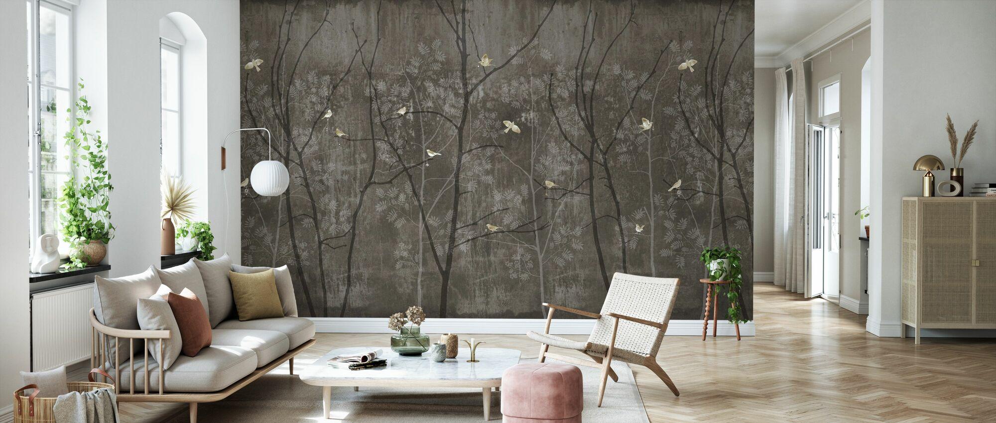 Romeo and Juliet - Dark - Wallpaper - Living Room