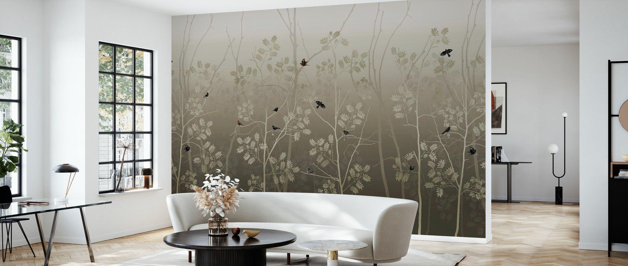 Last Emperor - Bronze - Wallpaper - Living Room