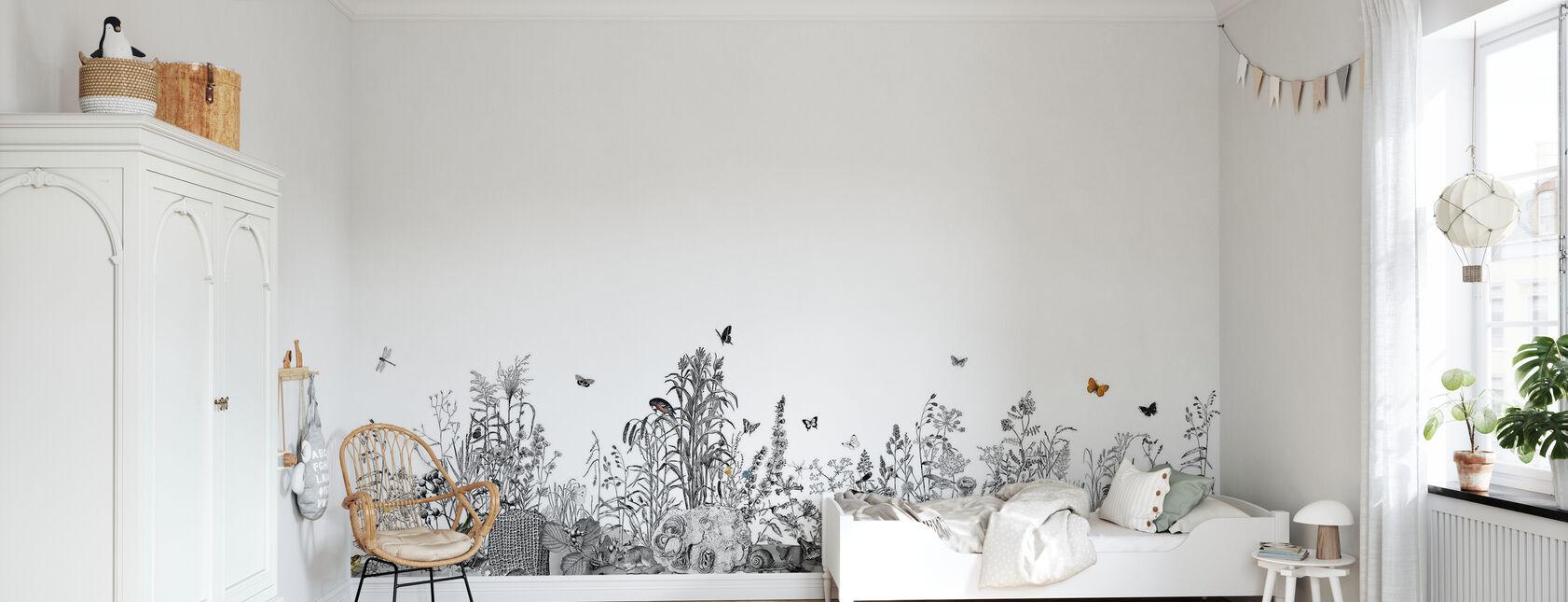 Snail Trail - Wallpaper - Kids Room