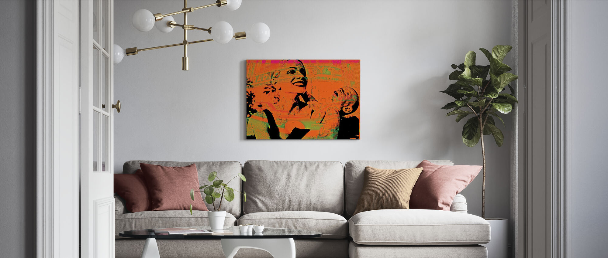 Mama Love - Canvas print - Living Room