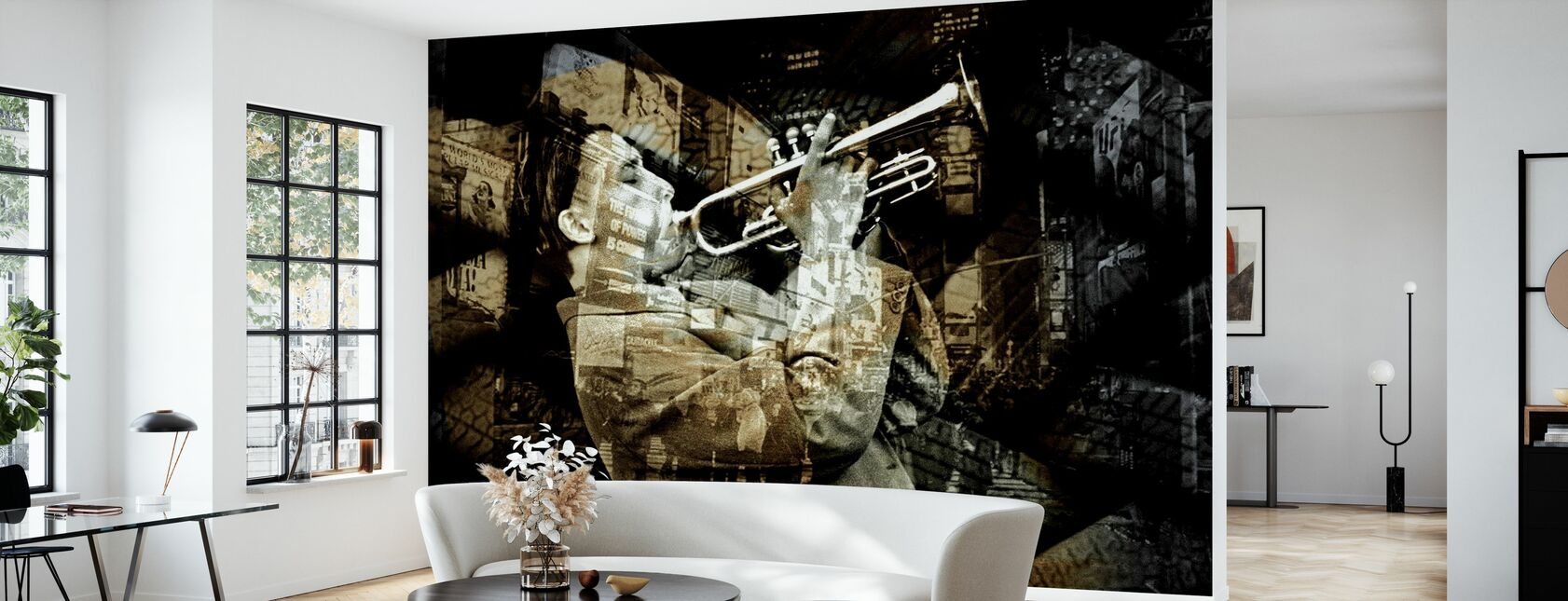 All The Jazz - Tapete - Wohnzimmer
